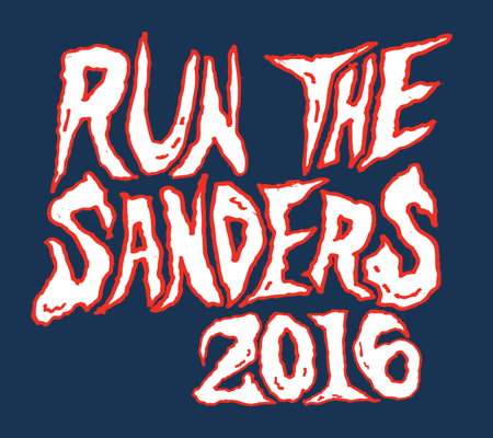My Main Man Pat: RUN THE SANDERS