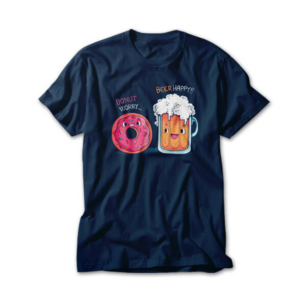OtherTees: Donut Worry...Beer Happy!!