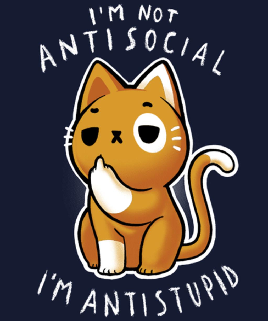 Qwertee: Antisocial?