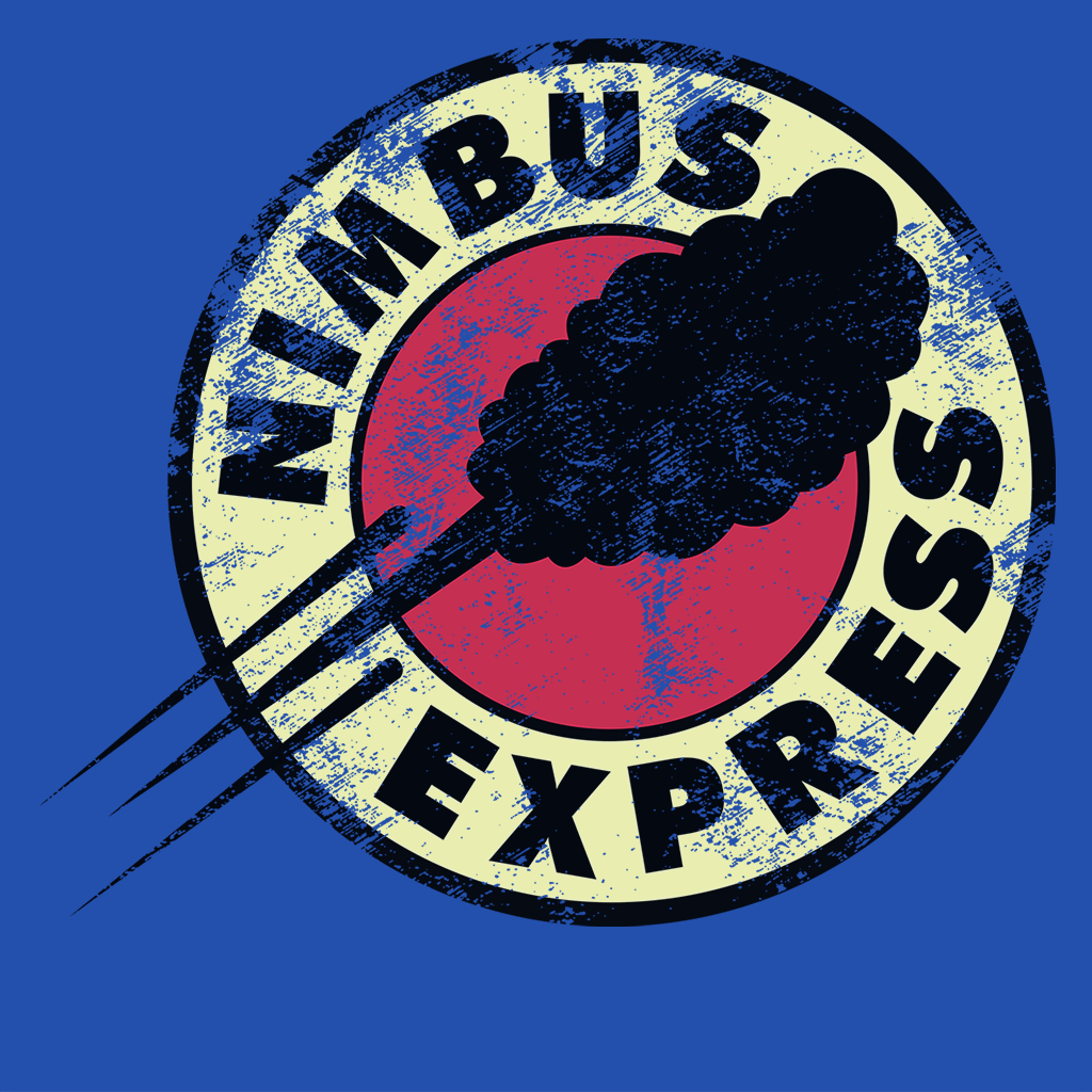 Pop-Up Tee: Nimbus Express
