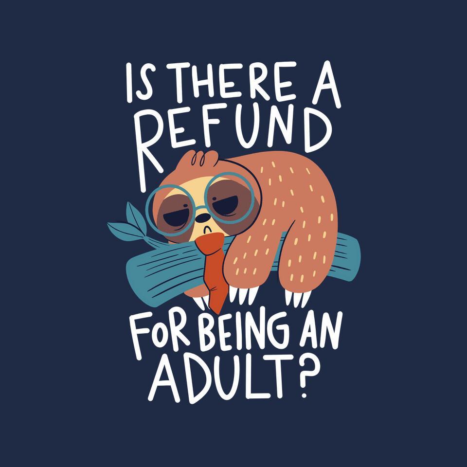 TeeFury: Adulting Refund
