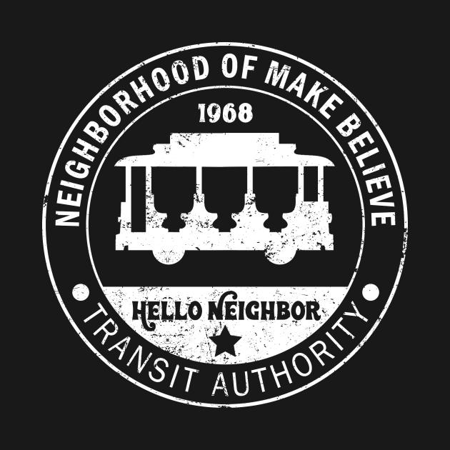 TeePublic: Neighborhood Transit Authority (For Dark Shirts)