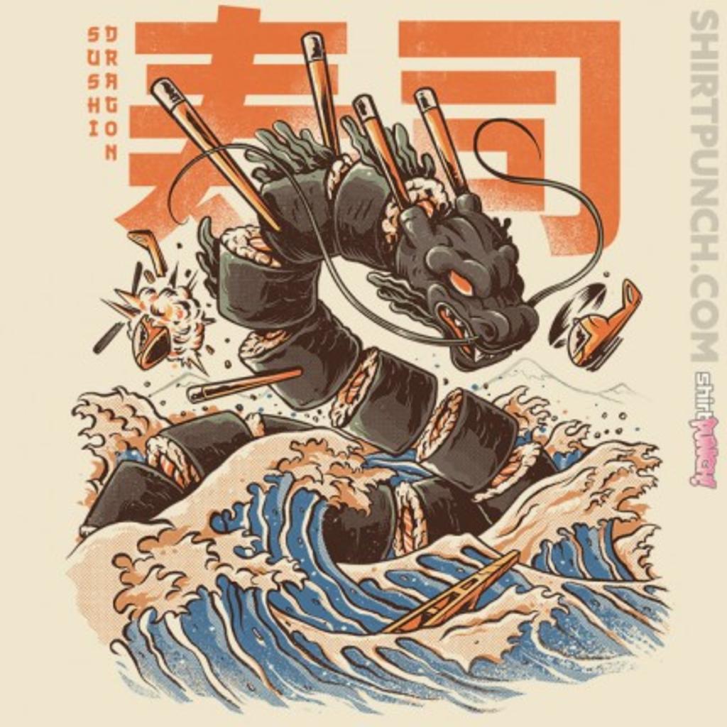 ShirtPunch: Great Sushi Dragon