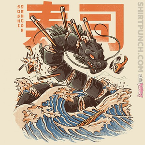 ShirtPunch: Great Sushi Dragon