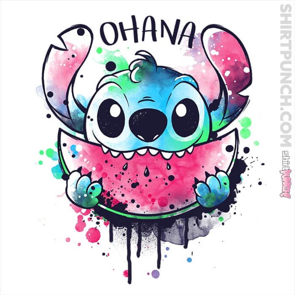 ShirtPunch: Ohana Watercolor