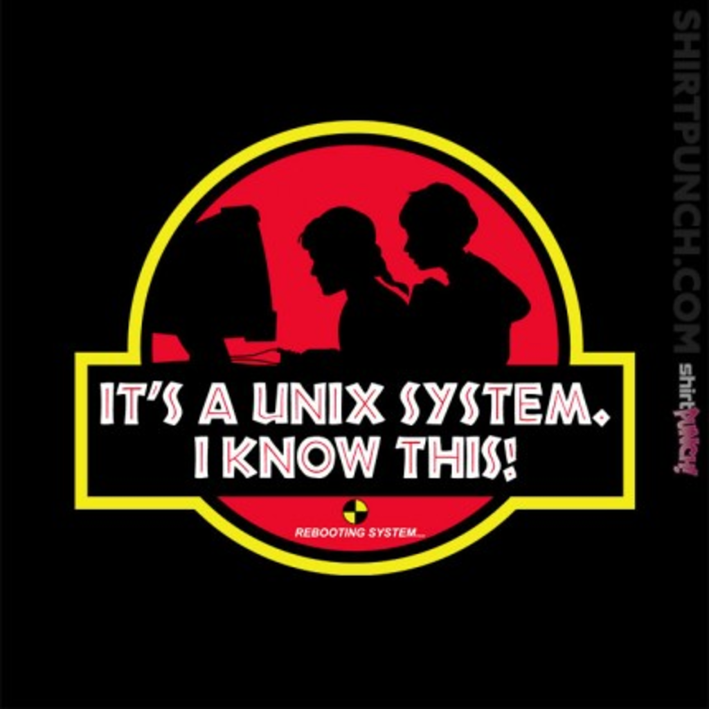 ShirtPunch: Unix System Park