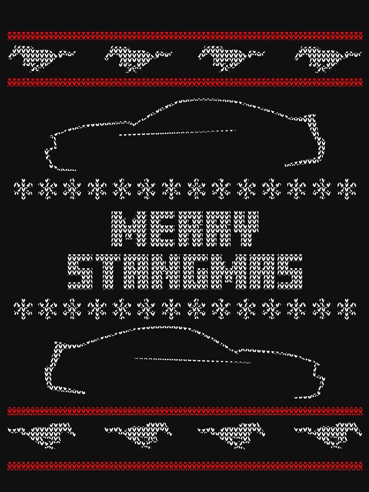 RedBubble: Merry Stangmas - s197 Version