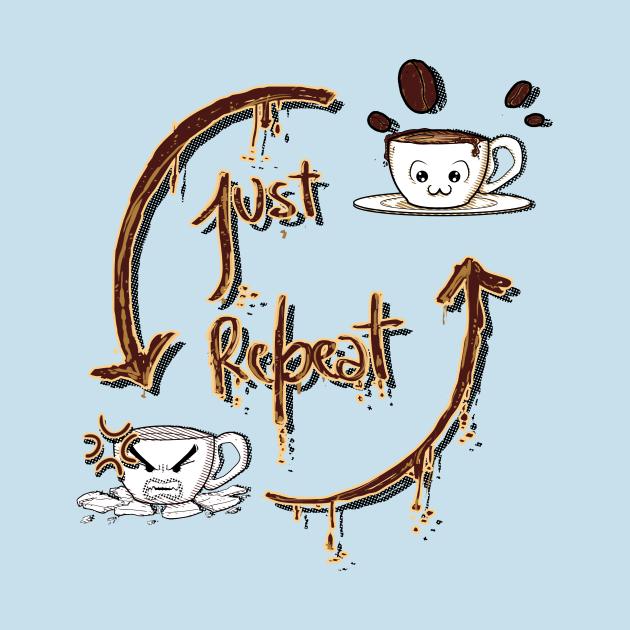 TeePublic: Coffee Routine