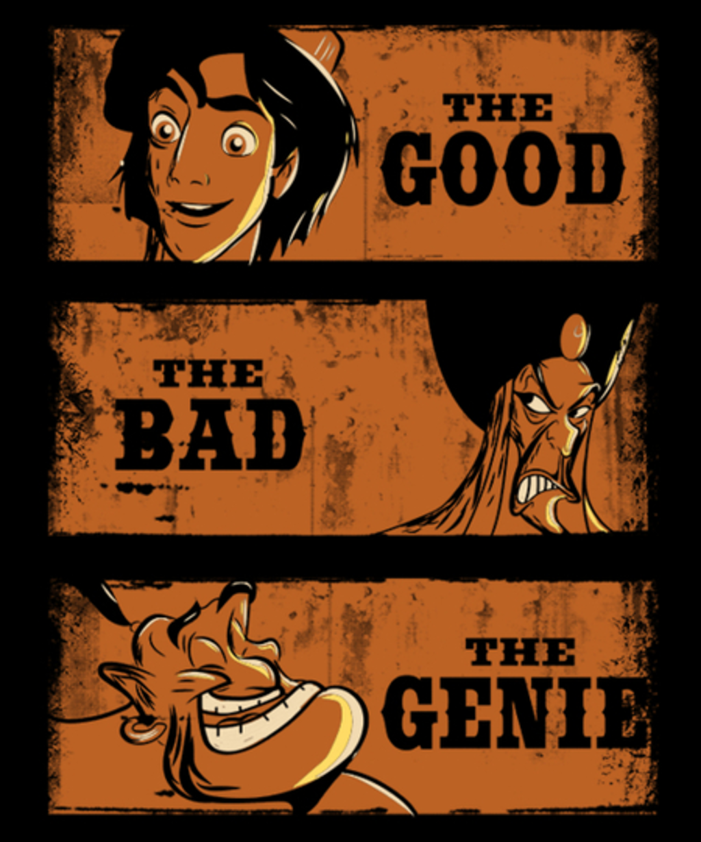 Qwertee: The Good,the Bad,The Genie