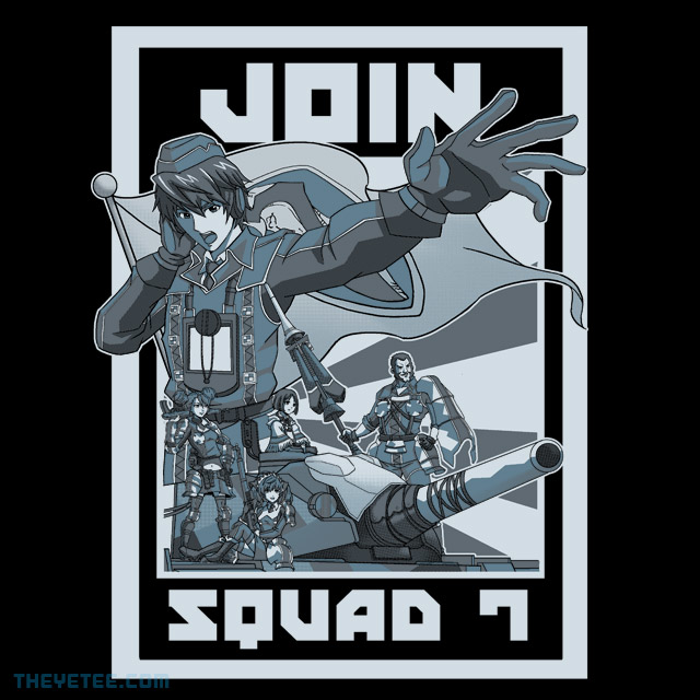 The Yetee: Join Squad 7