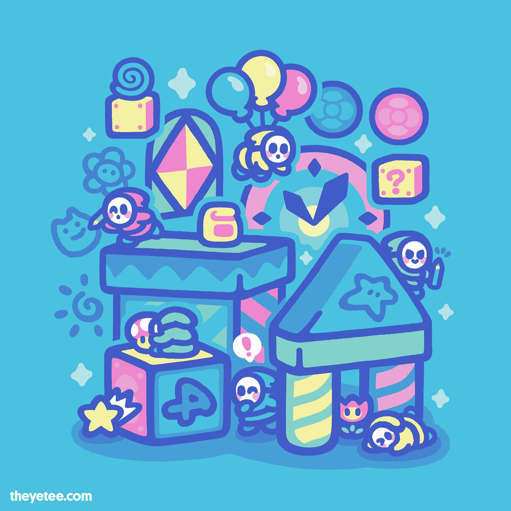 The Yetee: Toy Box
