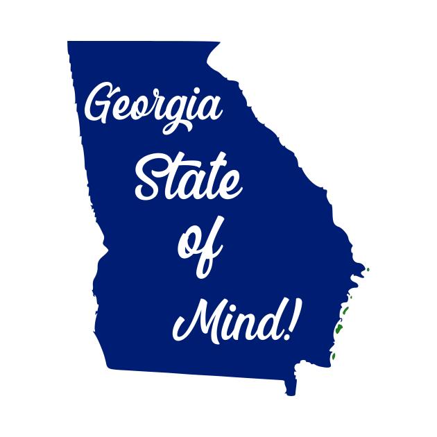 TeePublic: Georgia State of Mind!