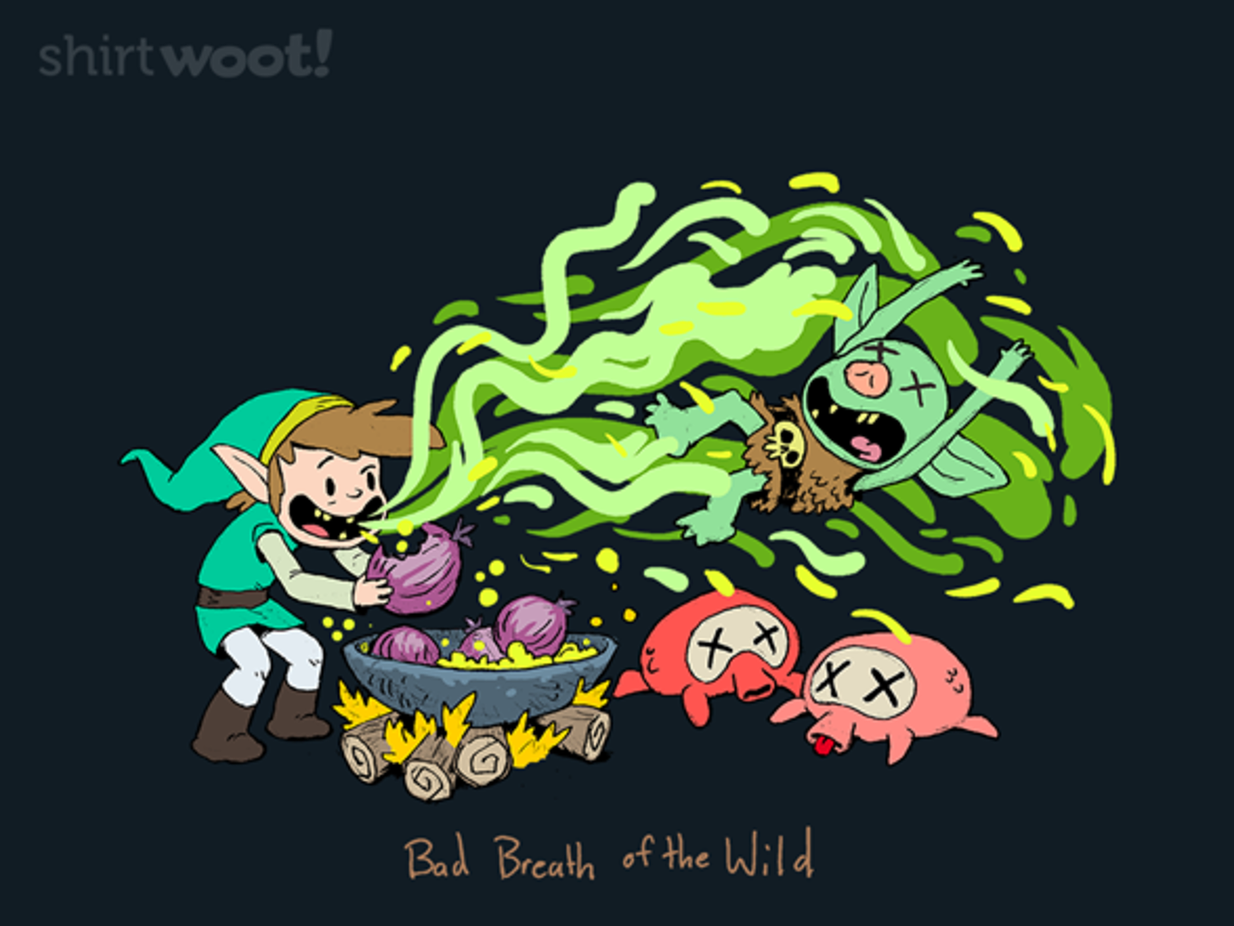 Woot!: Bad Breath of the Wild