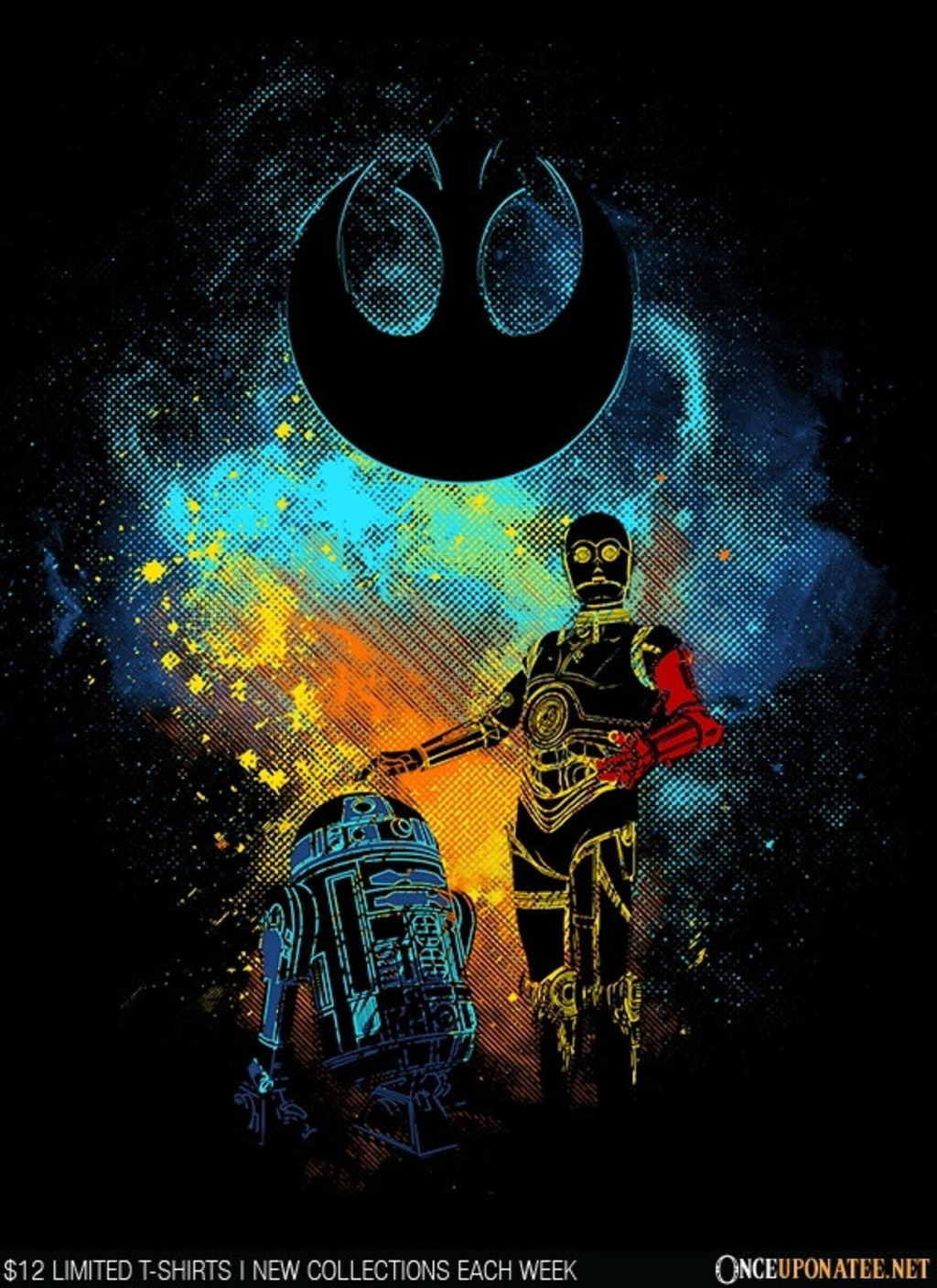 Once Upon a Tee: Droid Art
