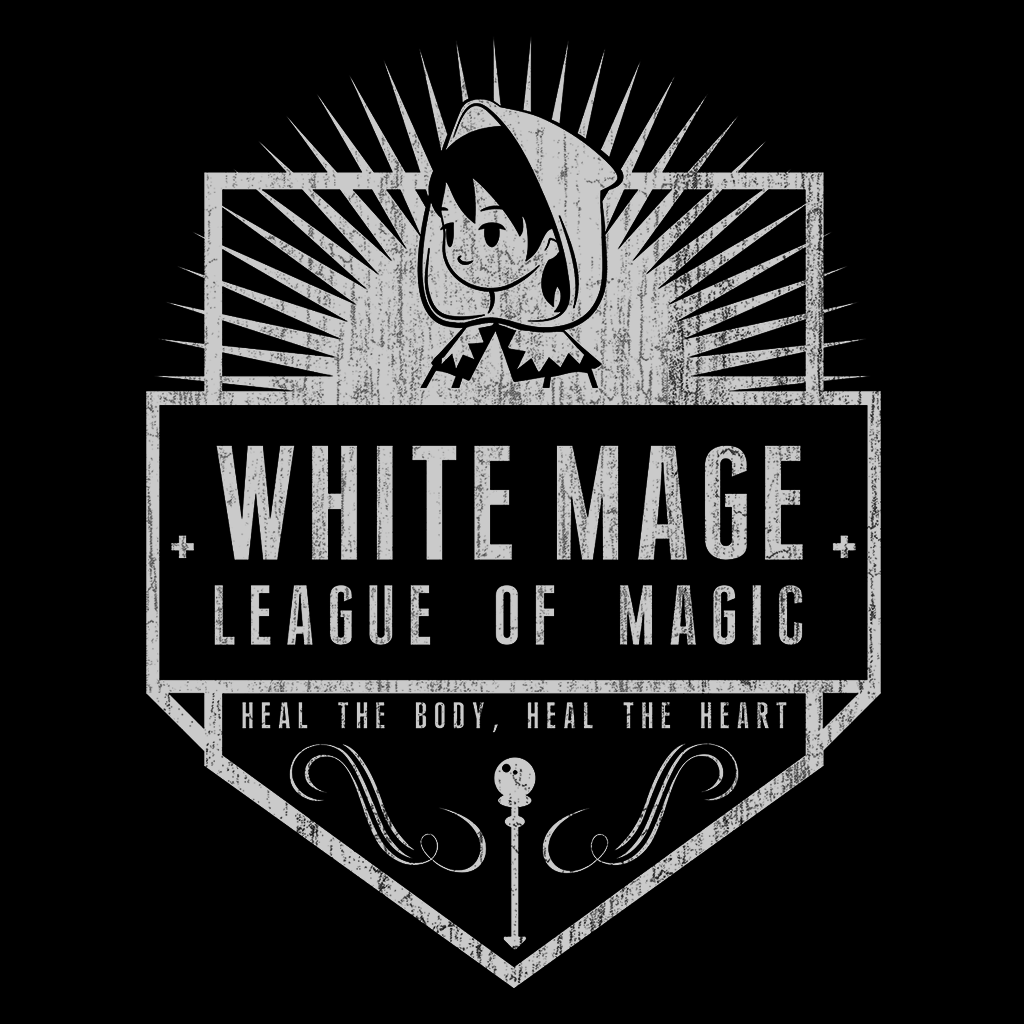 Pop-Up Tee: White Mage