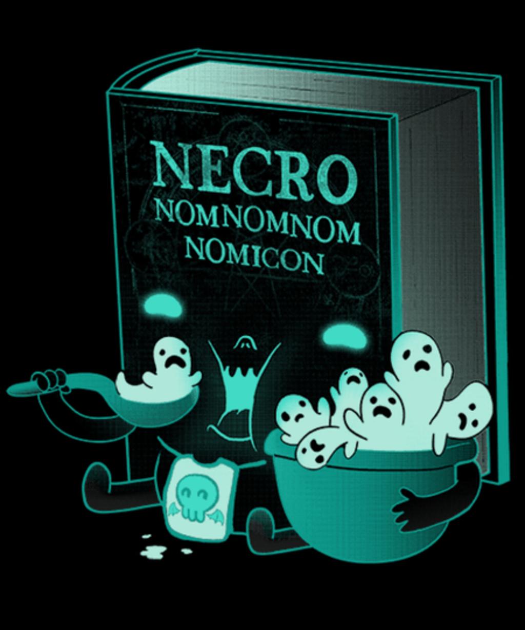 Qwertee: Necronomnomnomicon