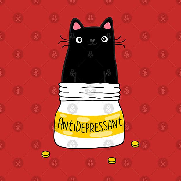 TeePublic: Fur antidepressant