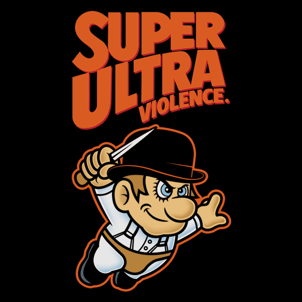 Pop-Up Tee: Super Ultra Violence