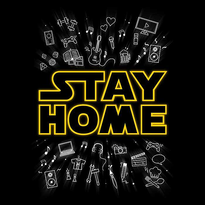 Once Upon a Tee: Stay Home