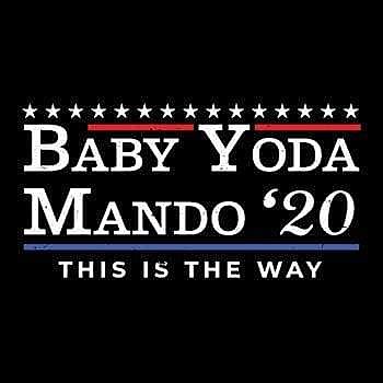 BustedTees: Baby Yoda Mando '20
