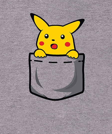 Qwertee: Surprised Pocket