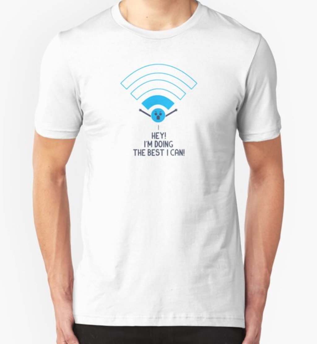 RedBubble: Angry Wifi