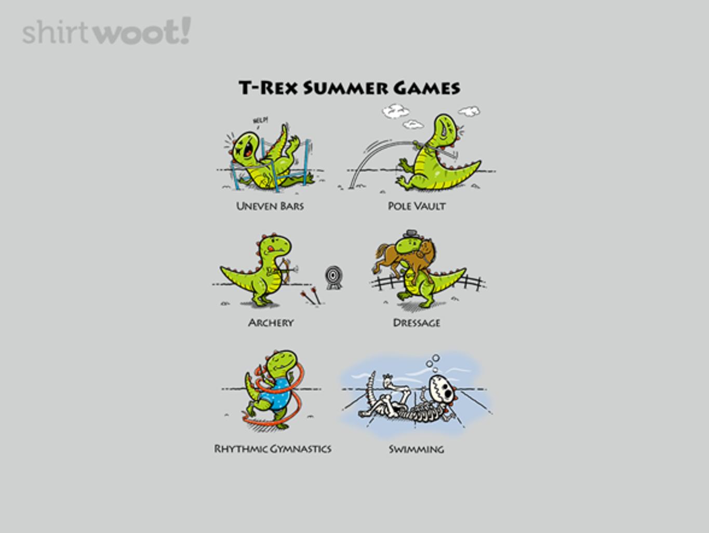 Woot!: T-Rex Summer Games