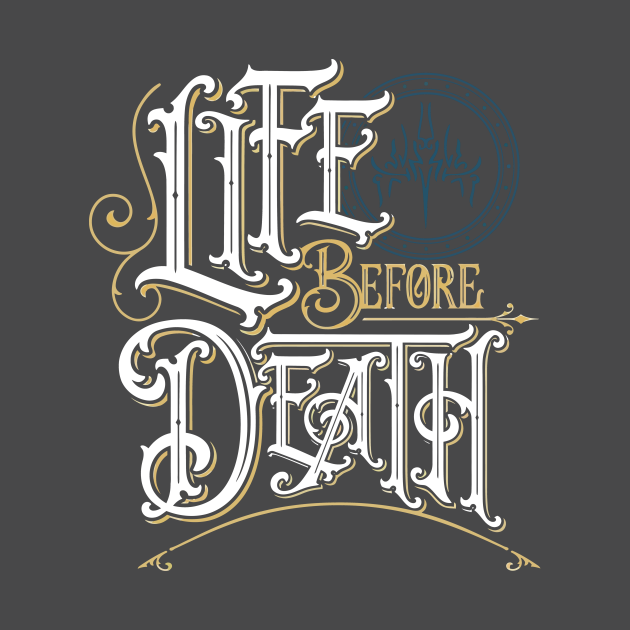 TeePublic: stormlight archive - life before death