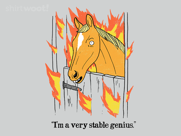 Woot!: A Stable Genius - $15.00 + Free shipping