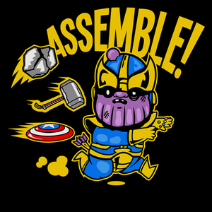 Pop-Up Tee: Assemble