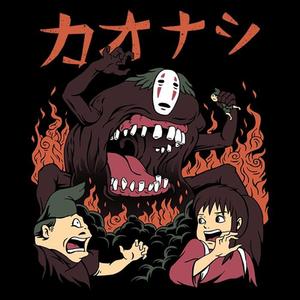 Once Upon a Tee: Kaonashi Attack