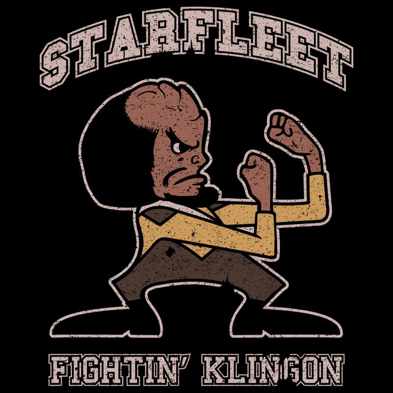 Curious Rebel: Fighting Klingon