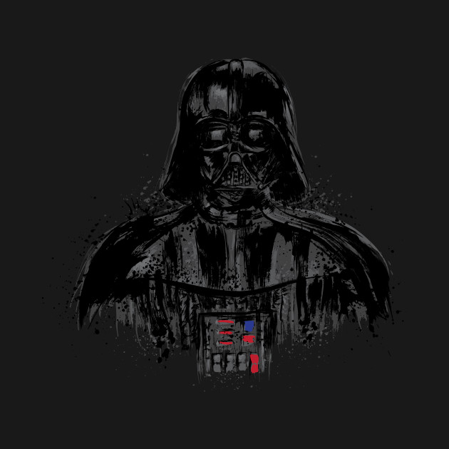 "TeePublic: Behind the dark side ""black"""