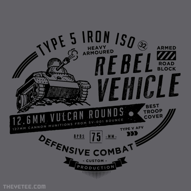 The Yetee: Type 5 Iron