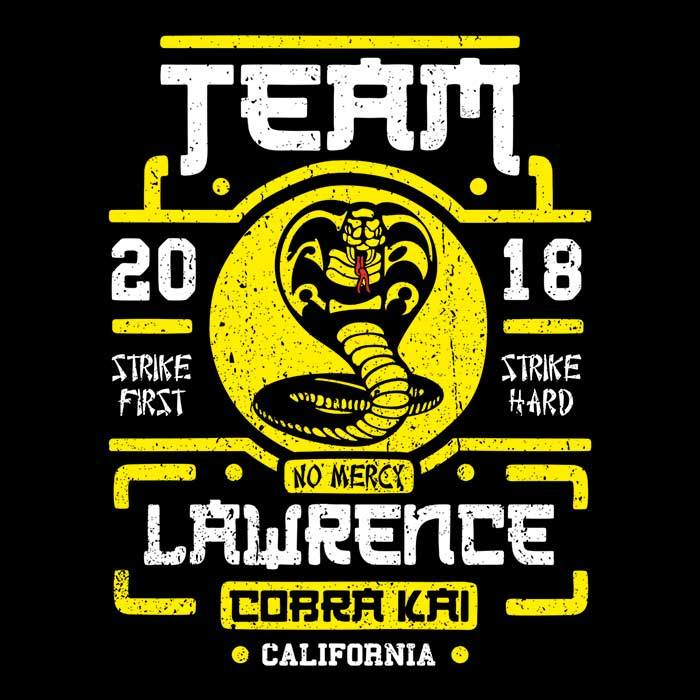 Once Upon a Tee: Team Lawrence