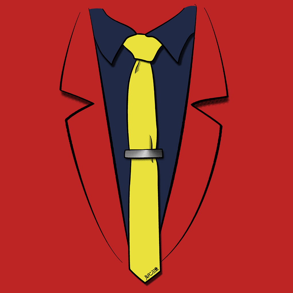 TeeTee: Lupin III's suit