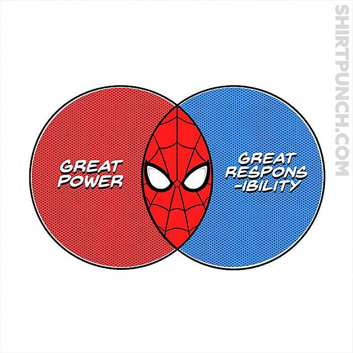 ShirtPunch: Venn Spider-Gram