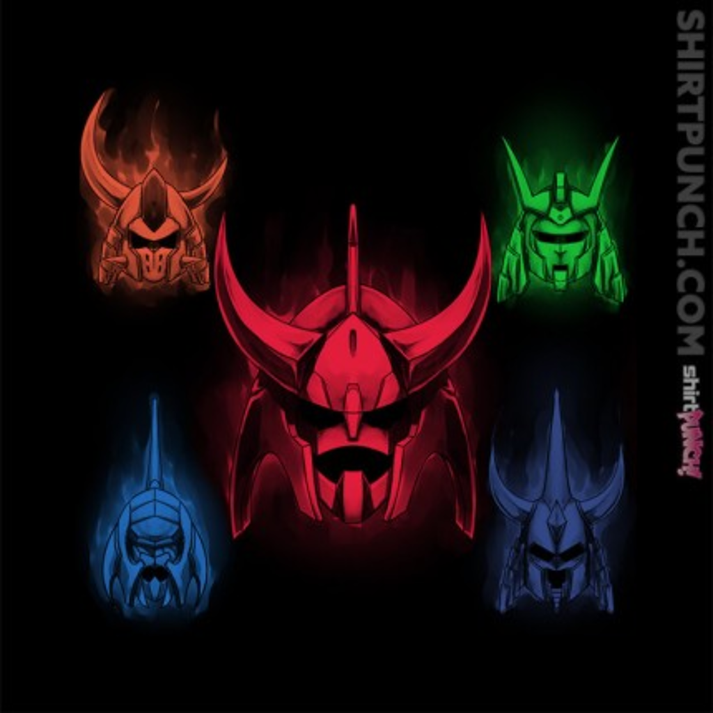 ShirtPunch: Ronin Warriors
