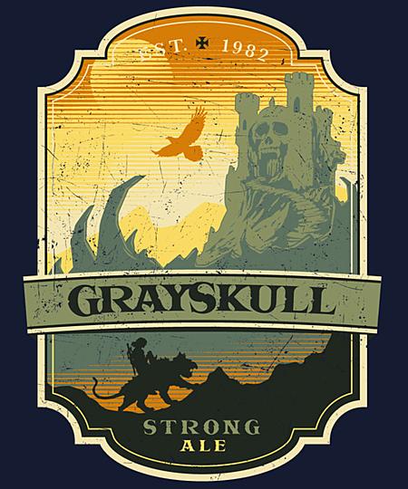 Qwertee: Grayskull Strong Ale
