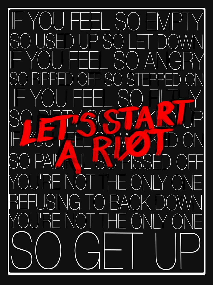 RedBubble: Let's Start A Riot!