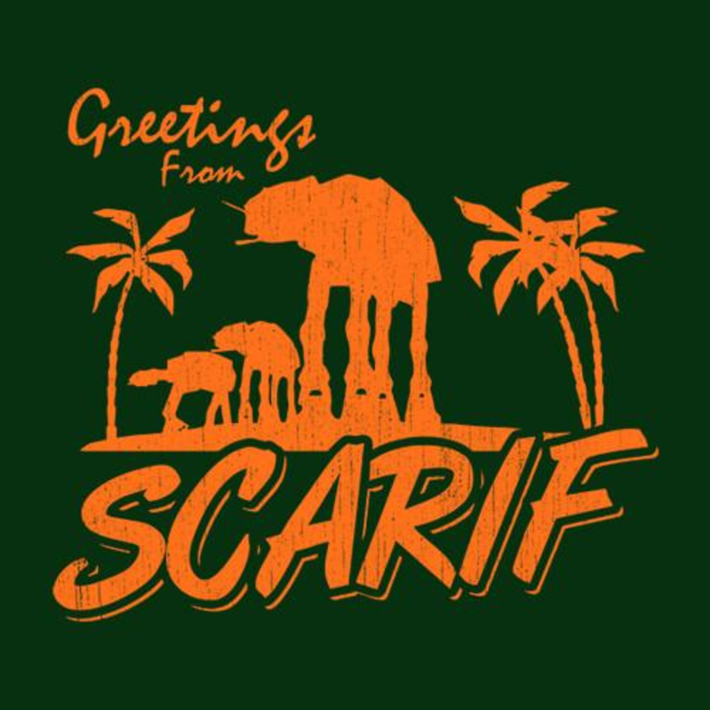 Five Finger Tees: Greetings From Scarif T-Shirt