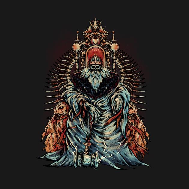 TeePublic: The King of Hammer