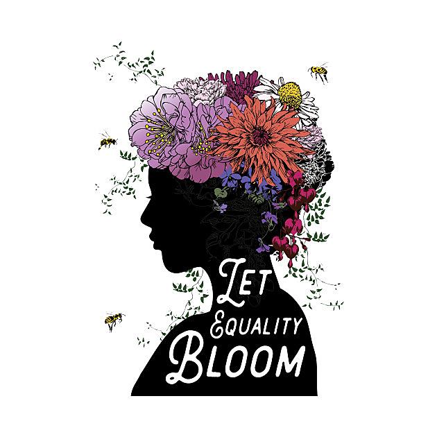 TeePublic: Let Equality Bloom