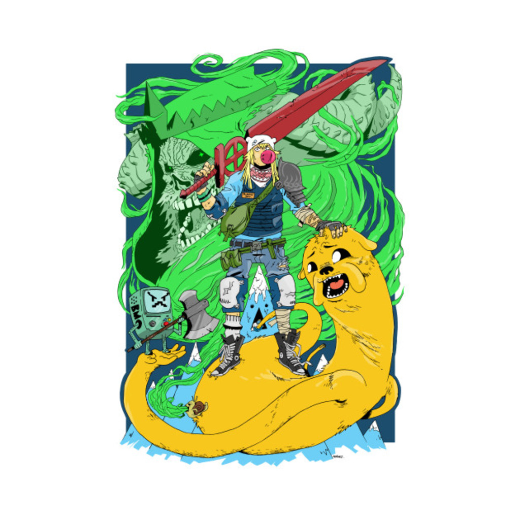 TeePublic: Time for Adventure T-Shirt