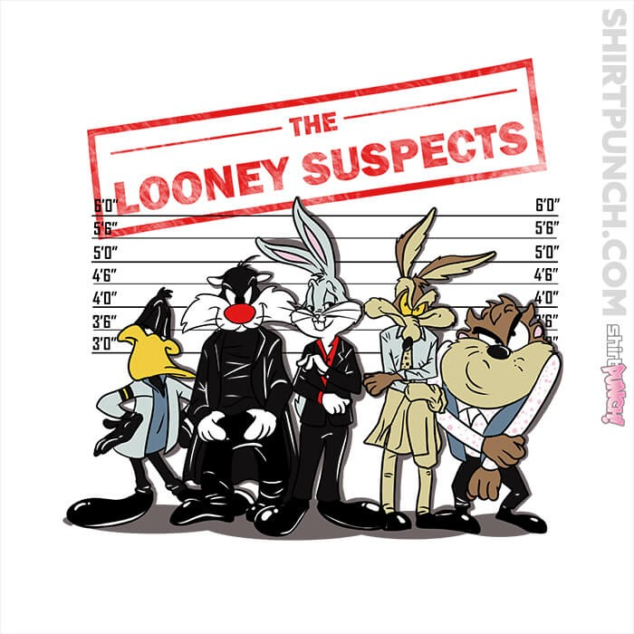 ShirtPunch: The Looney Suspects