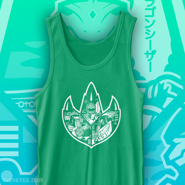 The Yetee: Dragon Power Tank Top