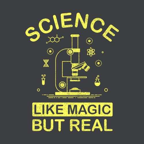 Five Finger Tees: Science Like Magic But Real T-Shirt