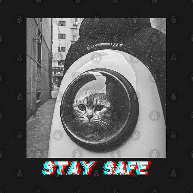 TeePublic: Safe cat