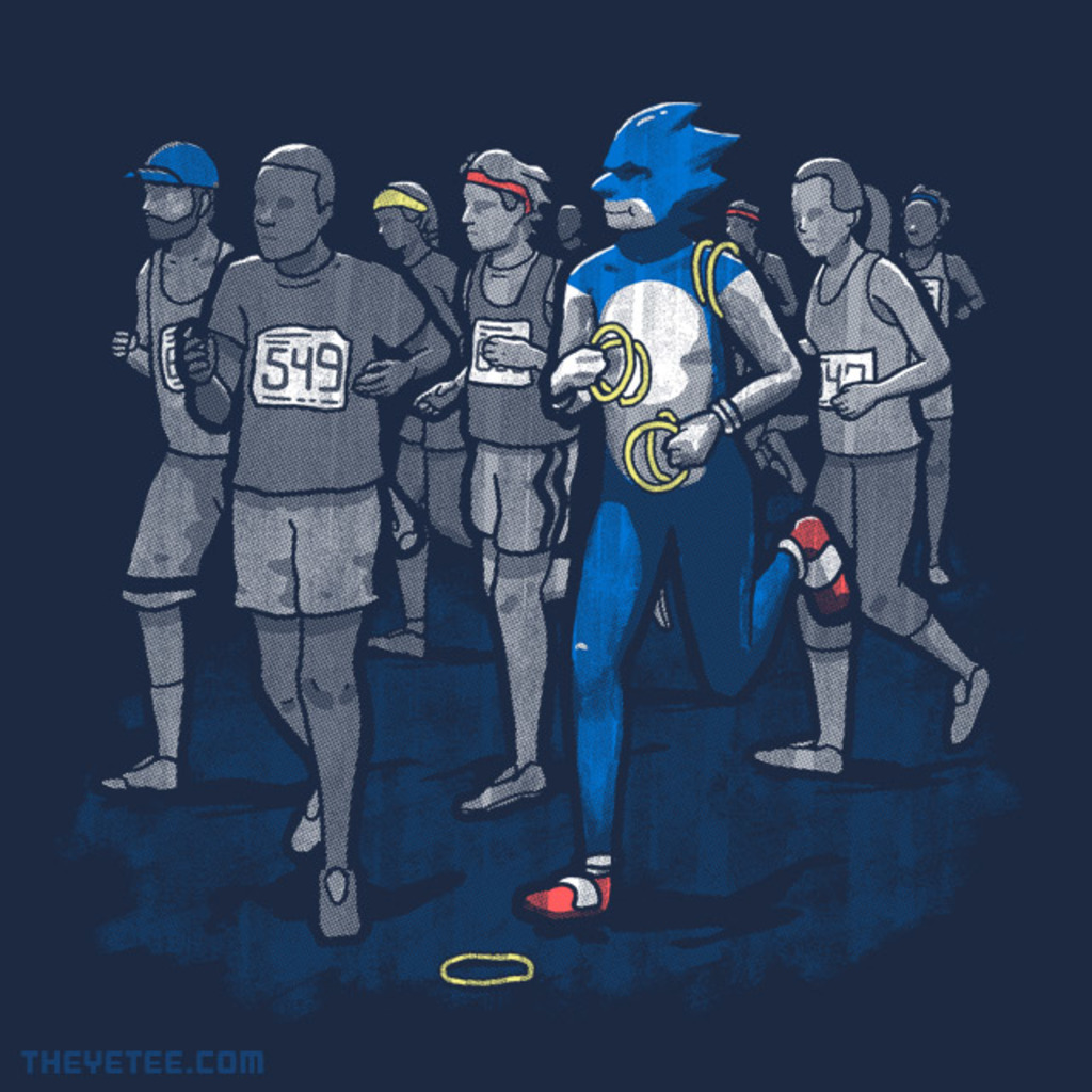 The Yetee: Marathon Man