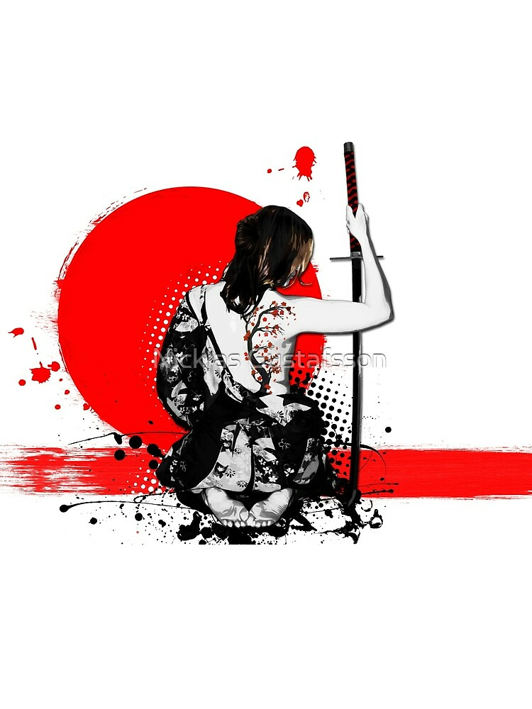 RedBubble: Trash Polka - Female Samurai